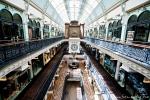 Queen-Victoria-Building - hinter dem alten Gemäuer verbirgt sich eine schicke Mall