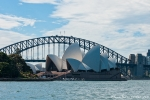 Harbour Bridge und Oper - Sydney