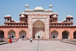 Eingang zu Akbars Mausoleum