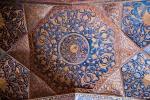 Deckenverzierung in Akbars Mausoleum