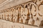 Kunstvolle Marmorreliefs - Taj Mahal