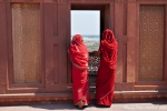 Vom Red Fort kann man hinüber zum Taj Mahal blicken