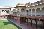Innenhof von Diwan-i-Aam - Red Fort