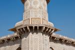Minarett des Mausoleums - Itimad-ud-Daula
