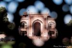 Durchblick - Eingang des Itimad-ud-Daula-Mausoleums
