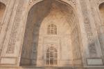 Bogennischen am Taj Mahal
