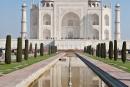 Spiegelung - Taj Mahal