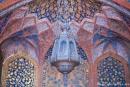 Alte Lampe in Akbars Mausoleum