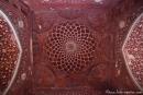 Decke der Moschee - Taj Mahal