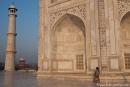 Morgens am Taj Mahal