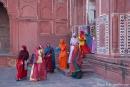 Moschee am Taj Mahal