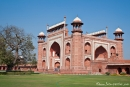 Haupteingang des Taj Mahal