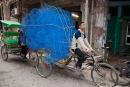 Faszinierend, was man mit einem Fahrrad alles transportieren kann