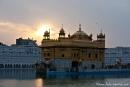 Sonnenuntergang am Goldenen Tempel