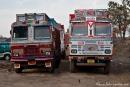 Indische LKWs sind etwas speziell