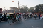 Rushhour am Lal Qila (Red Fort)
