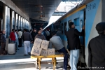 Auf dem Bahnhof