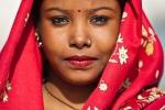 Hübsche Inderin