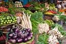 Ein üppiges Gemüseangebot