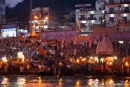 Ganga aarti am Hari-ki-Pauri-Ghat