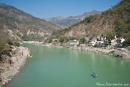 Hier ist der Ganges noch sehr sauber