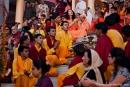 Religiöse Zeremonie - Parmarth Niketan