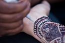 Henna-Malerei