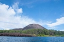 Ein erster Blick auf den berühmt- berüchtigten Vulkan Krakatau