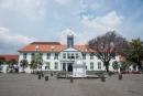 Der Platz Taman Fatahillah mit dem Jakarta History Museum - Jakarta