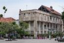 Alte Kolonialbauten in Kota Tua, der Altstadt von Jakarta