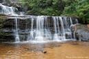 Kleine Kaskade oberhalb der Wentworth Falls - Blue Mountains National Park