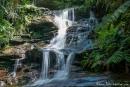 Einer der vielen Wasserfälle im Blue Mountain National Park