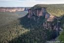 Die Great Dividing Range - Blue Mountains National Park