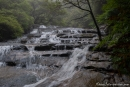 Der Nebel gibt dem Wasserfall etwas Mystisches - Leura Kaskaden