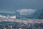 Fahrt durch die Eisberge der Diskobucht