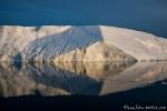 Abstrakte Kunst der Eisberge