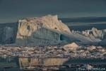 Fahrt durch die Eisberge
