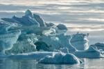 Bizarre Eisstrukturen