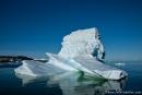 Eisberg vor der Hafeneinfahrt von Ilulissat