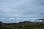 Langsam treibt das Eis aus dem Kangia-Fjord in die Diskobucht