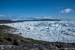 Eisbergstau im Kangia-Fjord