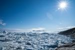 Im Kangia-Fjord treibt das uralte Gletschereis des Sermeq Kujalleq-Gletschers