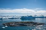 Blick auf den Eisfjord