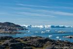 Ausblick über die Bucht von Ilulissat