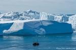 Eisberge von gewaltigem Ausmass