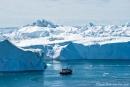 Unvorstellbare Eismassen treiben in der Diskobucht
