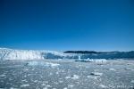 Bucht am Eqi-Gletscher