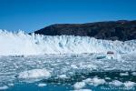 Der Eqi-Gletscher hat gewaltige Ausmasse