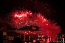 Kussmund - Silvesterfeuerwerk an der Harbour Bridge - Sydney