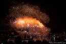Silvesterfeuerwerk an der Harbour Bridge - Sydney